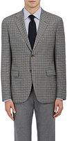 Barneys New York MEN'S CHECKED TRAVELLER WOOL TWO-BUTTON SPORTCOAT