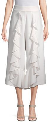 Alexis Crop Ruffle Trouser