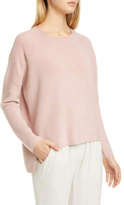 Eileen Fisher Merino Wool High/Low Top