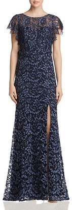 Decode 1.8 Flutter-Sleeve Lace Gown