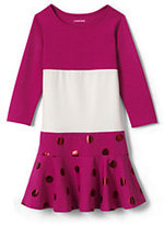 Classic Toddler Girls Academy Dress-Bright Teaberry