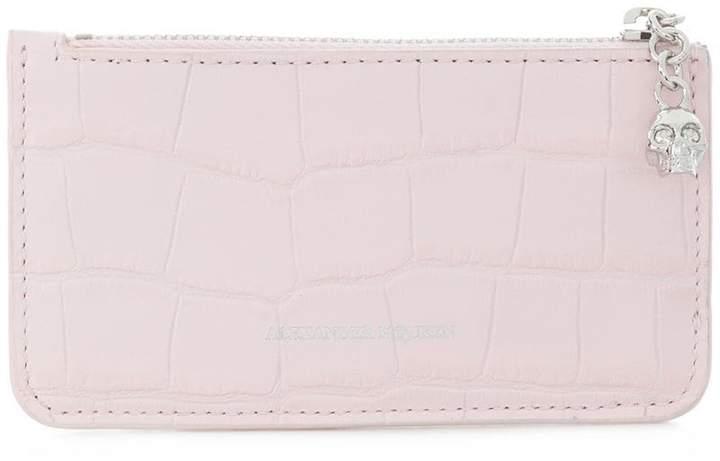 Alexander McQueen zipped cardholder