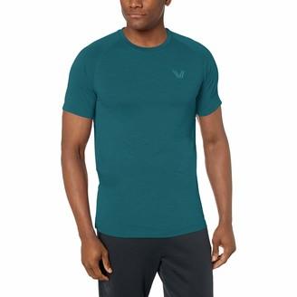 Peak Velocity Amazon Brand Men's VXE Short Sleeve Quick-Dry Athletic-Fit Crew T-Shirt