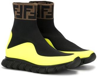 Fendi logo scuba sneakers