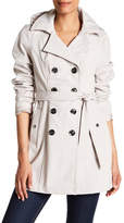 Sebby Short Hooded Trench Coat