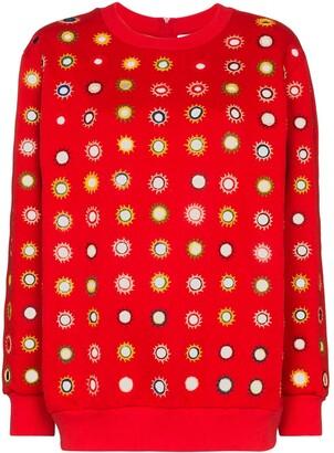 Ashish Mirror Embroidered Sweatshirt