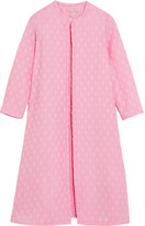 Emilia Wickstead Helen Oversized Cotton-blend Cloqué Coat - Pink