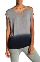 Threads 4 Thought Azalee Dip-Dye Cutout Sleeve Tee