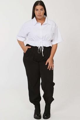 LuvMeMore Baker Jogger Pants in Black Size 16W/18W