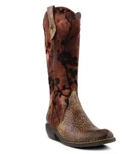 L'Artiste Laretilyn Western Boots Women's Shoes
