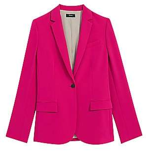 Theory Women's Staple Classic Crepe Single-Button Blazer
