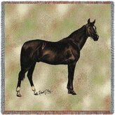 Pure Country Anglo Arabian Lap Square - 54 x 54 Blanket/Throw