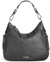 Calvin Klein Classic Pebbled Leather Hobo