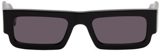 Marcelo Burlon County of Milan Black Wings Lowrider Sunglasses