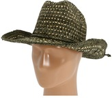 Michael Stars Encased Ribbon Hat (Camo) - Hats