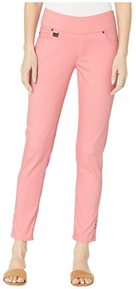 Lisette L Montreal Sammy Denim Pull-On Slim Ankle Jeans (Peach) Women's Jeans