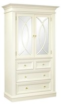The Well Appointed House Wilshire Antico White Armoire