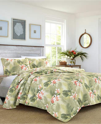 Tommy Bahama Tropical Orchid Full/Queen Quilt Sham Set