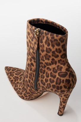 Good American Icon Bootie 110 | Pale Leopard002
