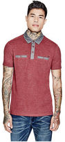 GUESS Men's Marks Pique Polo