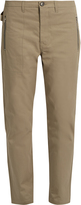 Golden Goose Deluxe Brand Cropped cotton chinos
