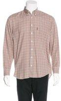 Barbour Plaid Flannel Shirt