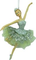 Christmas Shop Orn-Dancing Ballerina Silver