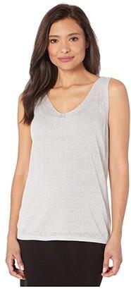 Nic+Zoe Primrose Sweater Tank (Black Onyx) Women's Clothing