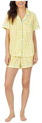 Bedhead Pajamas Short Sleeve Boxer Pajama Set (Animal Instinct) Women's Pajama Sets