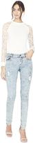 Alice + Olivia Jane 5 Pocket Skinny Jean