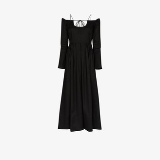 By Any Other Name Pastoral off-the-shoulder dress