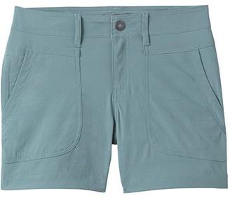 Prana Plus Size Revenna Shorts (Black) Women's Shorts