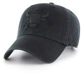 '47 Women's Clean Up Chicago Bulls Baseball Hat - Black