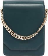 Bellows Leather Shoulder Bag