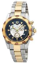 Brillier Women's 14-02 Analog Display Swiss Quartz Two Tone Watch