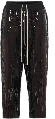 Rick Owens Bela sequined trackpants