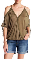 Jessica Simpson Nalana Cold Shoulder Blouse