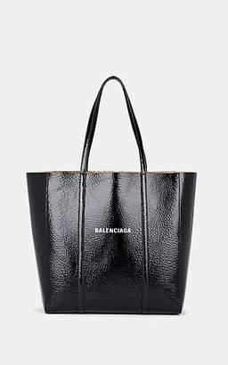 Balenciaga Women's Everyday Small Patent Leather Tote Bag - Black