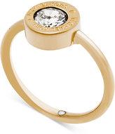 Michael Kors Crystal Logo Ring