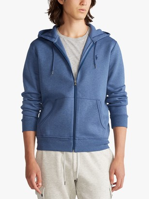 Ralph Lauren Polo Full Zip Hoodie, Derby Blue