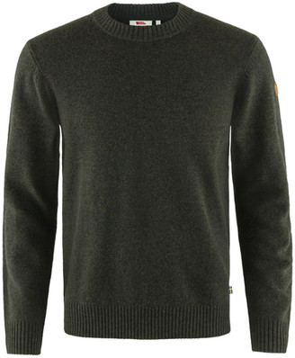 Fjallraven Ovid Round Neck Sweater Dark Olive - S