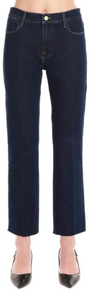 Frame Le High Straight-Cut Jeans