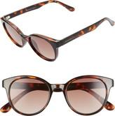 Seafolly Fingal Bay 48mm Round Cat Eye Sunglasses