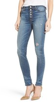 Hudson Women's Ciara High Waist Distressed Skinny Jeans