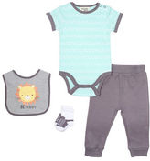 Chick Pea Be Happy Four-Piece Baby Set