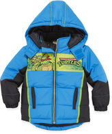 Asstd National Brand Ninja Turtles Puffer Jacket - Toddler 2T-4T