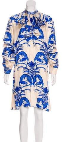 9b0787c99 Gucci Print Silk Dresses - ShopStyle