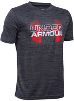 Under Armour Boys' Big Logo Hybrid Tee - Sizes S-XL