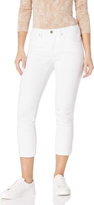 NYDJ Petite Petite Sheri Slim Ankle in Optic White Optic White 12P