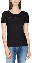 Calvin Klein Jeans Women's Tamar-43 Cn Lwk S/S T-Shirt